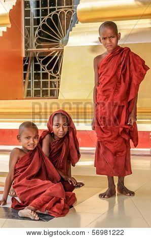 Young Monks - Nay Pyi Taw