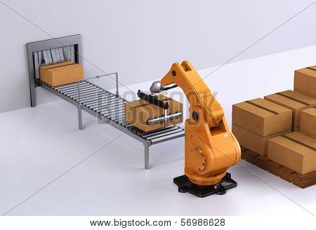 Robotic Palletising