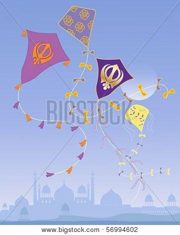 Punjabi Kites