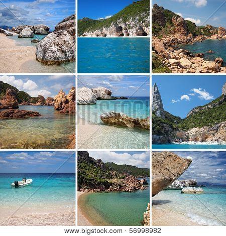 Sardinia Collage