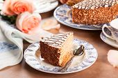 Chocolate - Almond Esterhazy Torte