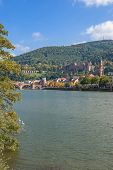 Heidelberg,Neckar River,Germany