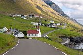picture of faro  - Landscape of Kunoy Faroe Islands  - JPG