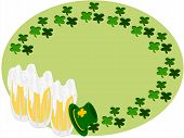 picture of fourleaf  - editable eps vector format - JPG