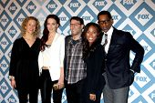 LOS ANGELES - JAN 13:  Producer, Katia Winter, Nicole Beharie, Orlando Jones at the FOX TCA Winter 2