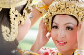 Unidentified Dancer Perform Thai Folk Dance