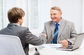 stock photo of older men  - business - JPG