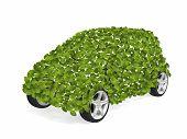 stock photo of environmentally friendly  - Environmentally friendly car - JPG