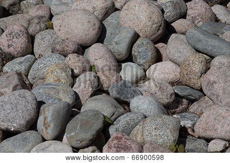 Group Of Large Granite Boulders