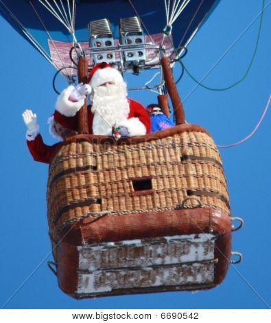 Santa's new ride