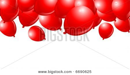 Falling Red Balloons