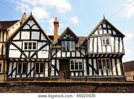 Tudor building, Warwick.