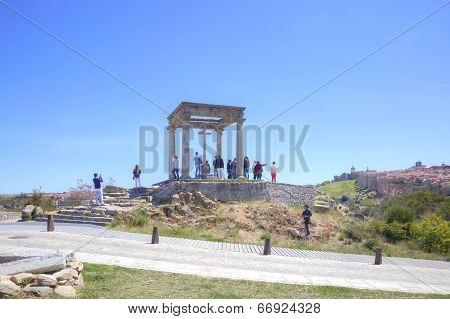 Avila. Observation Deck Four Columns