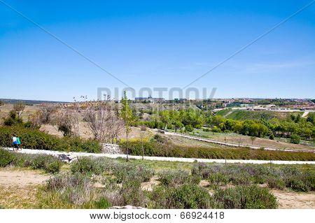 Outskirts Of City  Avila