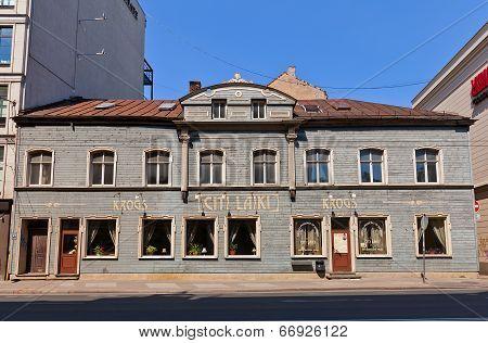 Citi Laiki Restaurant In Riga, Latvia