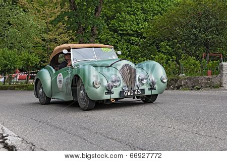 Vintage British Car Healey Westland Roadster