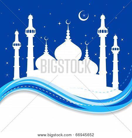 Eid Mubarak ( Blessing for Eid) background