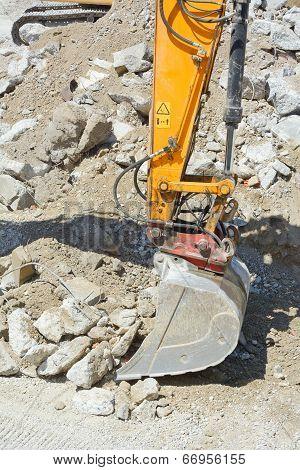 Heavy Construction Excavator