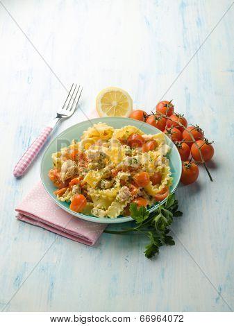 pasta with swordfish ragout
