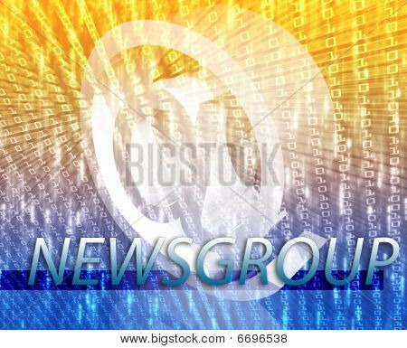 Online Newsgroup