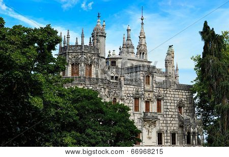 Sintra, Portugal -  Main House, Quinta Da Regaleira