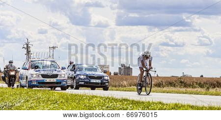 The Cyclist Thibaut Pinot