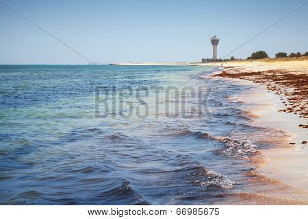 Coast Of Persian Gulf. Ras Tanura, Saudi Arabia