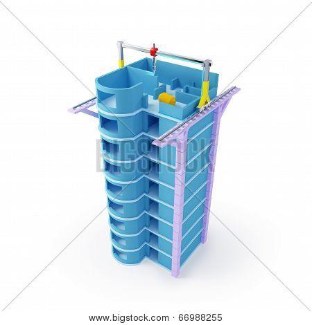 3d printing skyscraper