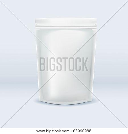 Blank Aluminum Foil Bag Package