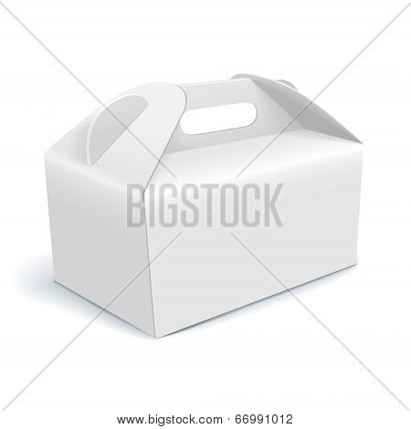 Vector Illustration Of Blank Cardboard
