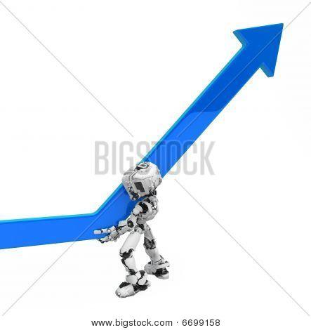 Blue Screen Robot, Progress Arrow