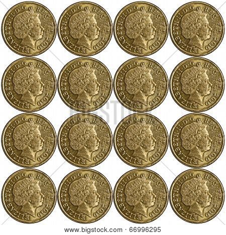 Pound Coin Pattern
