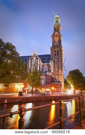 Westerkerk Church, Amsterdam