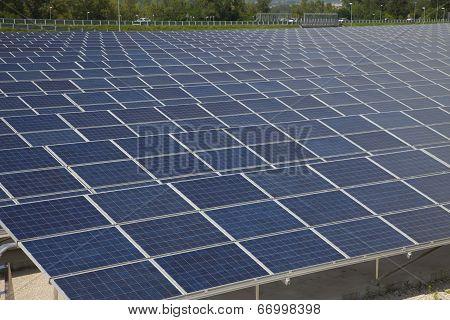 Photovoltaic Solar  Power Station - Photovoltaic Park