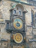 Постер, плакат: Prague astronomical clock