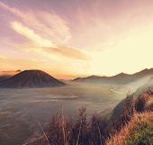 stock photo of bromo  - Bromo Volcano at  Java - JPG