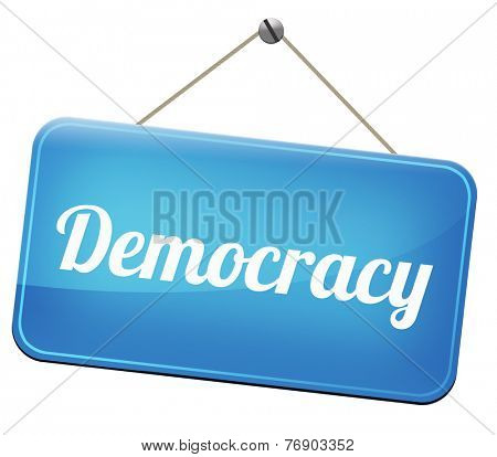 democracy and political freedom power to the people after a new revolution for free elections