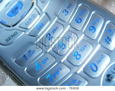 Macro Cell Phone Keypad