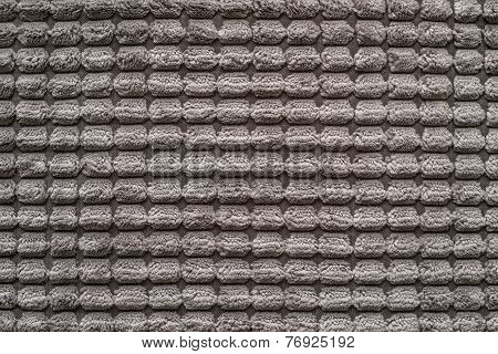 Texture Of Terry Fabric Silvery Beige Color