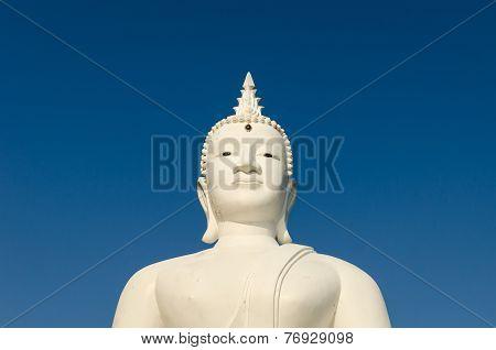 Budha On Blue Sky
