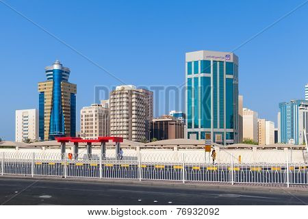 Modern Office Buildings Of Manama