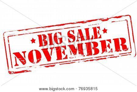 Big Sale November