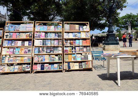 Bookstall in Havana, Cuba