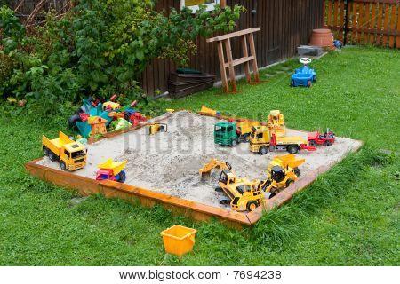 Sandbox And Toys