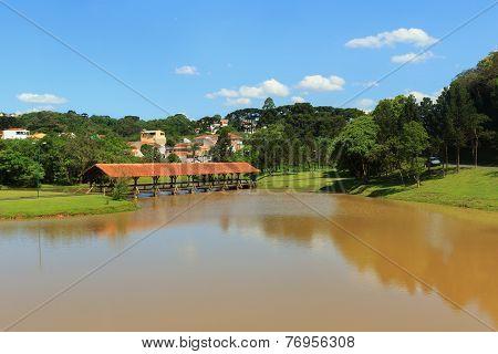 Tingui Park, Curitiba, State Parana, Brazil