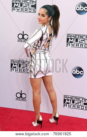 LOS ANGELES - NOV 23:  Becky G at the 2014 American Music Awards - Arrivals at the Nokia Theater on November 23, 2014 in Los Angeles, CA