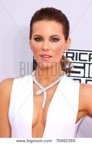 LOS ANGELES - NOV 23:  Kate Beckinsale at the 2014 American Music Awards - Arrivals at the Nokia Theater on November 23, 2014 in Los Angeles, CA