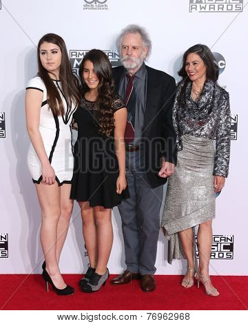 LOS ANGELES - NOV 23:  Bob Weir at the 2014 American Music Awards - Arrivals at the Nokia Theater on November 23, 2014 in Los Angeles, CA