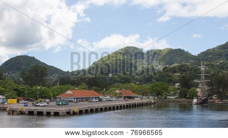 Port Of The Smallest Capital Of The World