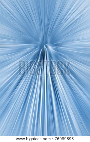 Abstract zoom radial blur background